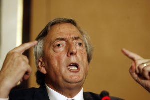 Kirchner gritando